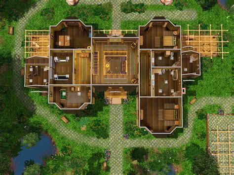 top floor plans mod the sims winnipeg canadian lodge