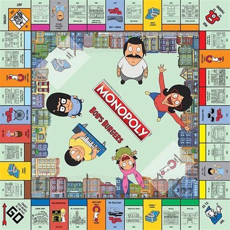 bob s burgers monopoly has burgers belchers and