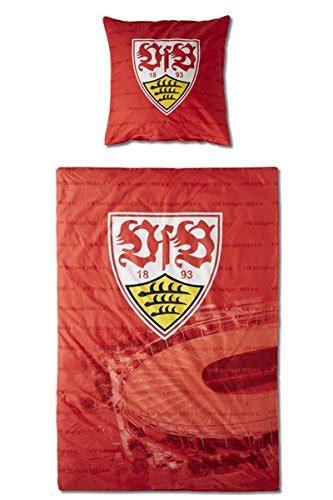 Vfb Decke by Vfb Stuttgart Bettw 228 Sche 100 Baumwolle Kissen 80x80cm