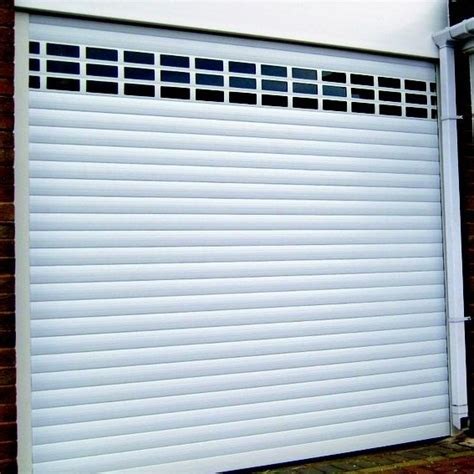 Roll Up Garage Doors With Windows Sws Seceuroglide Classic