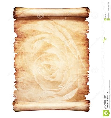 design background letter old parchment romantic paper background stock illustration
