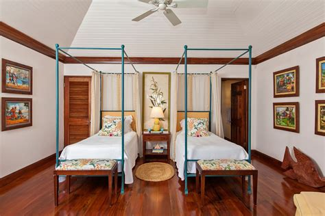 2 wing bedroom point of view at the tryall club jamaica villa by linda smith