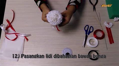 Cara Membuat Bunga Kertas Bulat | cara membuat bunga kertas youtube