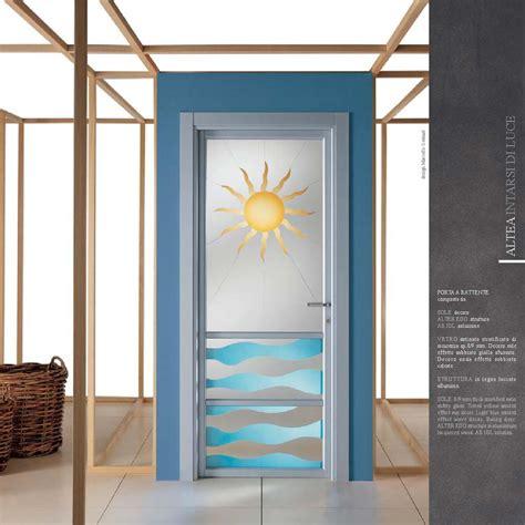 Immagini Porte Interne Con Vetro by Porte Decoro Sole Con Vetro Satinato Mdbportas