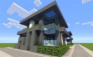 Modern Bedroom Minecraft - modern cube house minecraft project