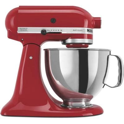 home kitchen aid kitchenaid artisan series 5 qt stand mixer in empire red