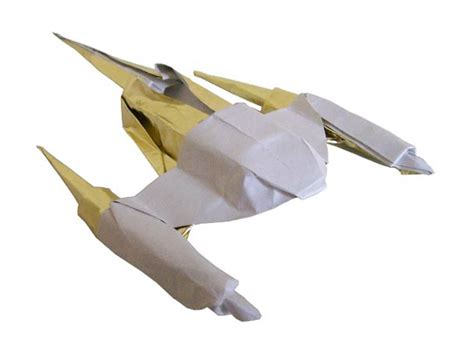 Spaceship Origami - starwarigami wars spaceships origami ufunk net