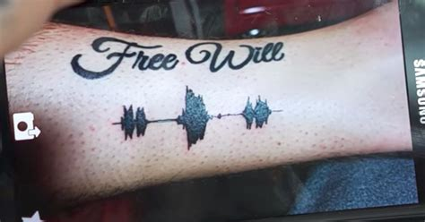 sound wave tattoo skin motion s soundwave tattoos let you listen to your