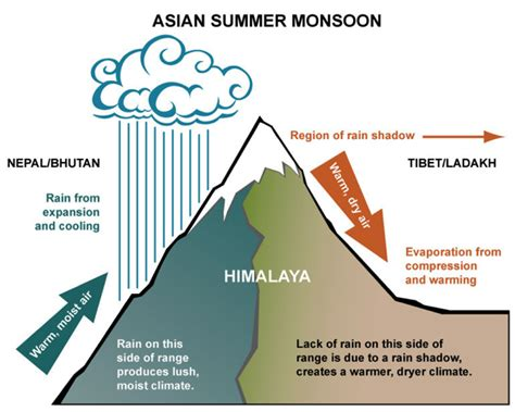 consequences of being sectioned the weather and climate of the himalayas