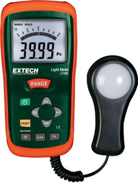 Light Intensity Meter extech lt300 light meter measures light intensity up to
