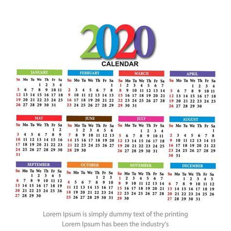 calendario  vector design descarga gratuita de plantilla en pngtree