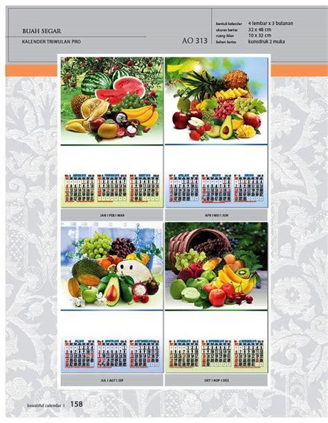 desain kalender triwulan 58 gambar kalender desain standar full ao print cetak
