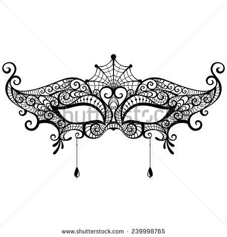 lace mask template and google on pinterest