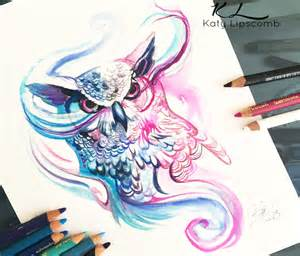 drawing color magic owl color drawing by katy lipscomb no 1381