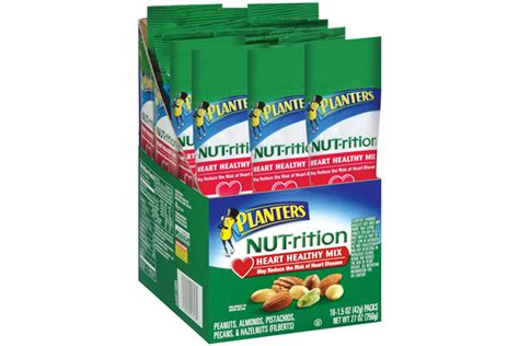 Planters Antioxidant Mix by Planters Nut Rition Healthy Mix 18 1 5 Oz Packs