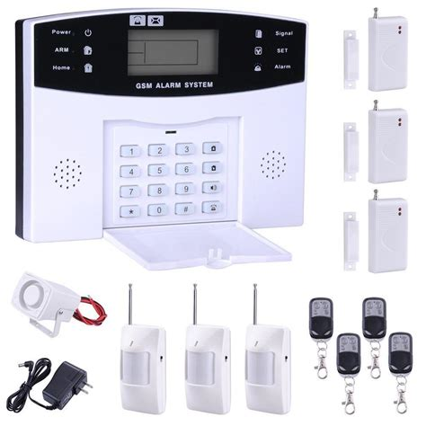 home alarm kits wireless avie home