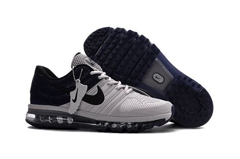 nike outlet shoes nike air max 2017 light grey navy shoes for outlet