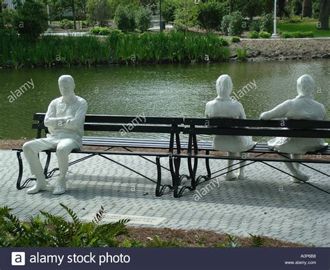 three figures and four benches george segal three figures and four benches at sydney and