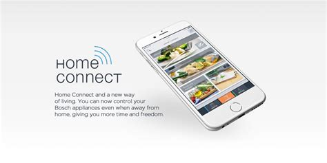 your appliances with the bosch home connect app