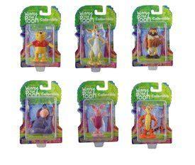 amazon com 6pcs set arts winnie the pooh figurine set disney winnie the pooh and