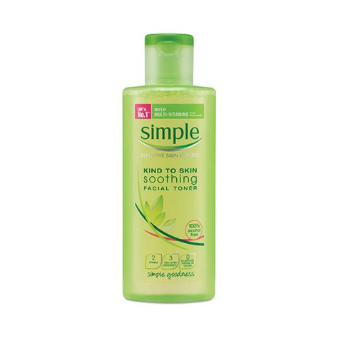 Toner Lasona Smooth Lotion Skin Care simple simple soothing toner hydrating lite