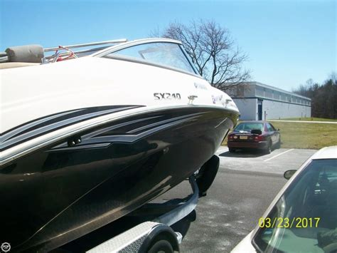 used jet boats for sale pa 2011 used yamaha sx240 jet boat for sale 37 000