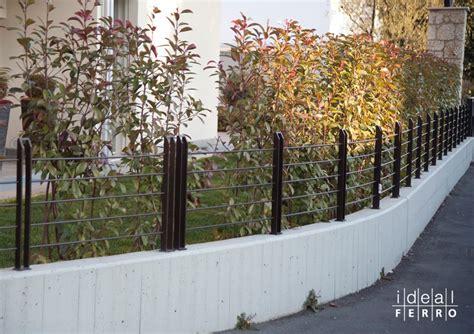 recinzione giardino in ferro recinzione sagomata idealferro
