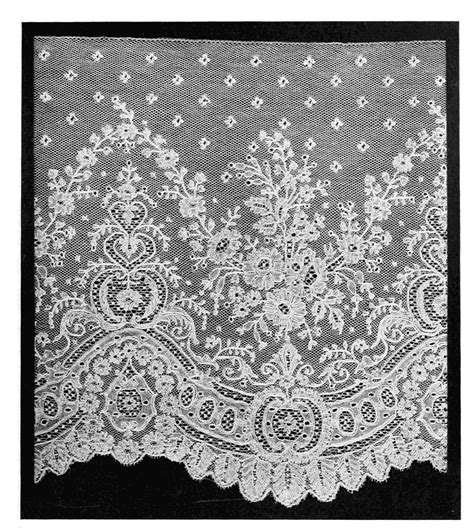 pattern of history lace