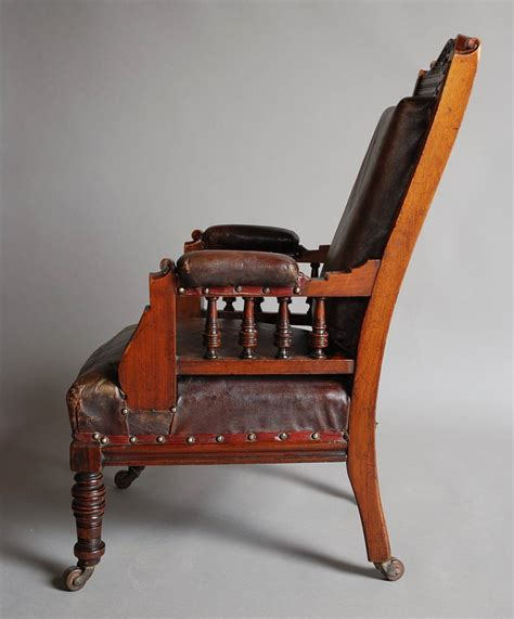 childs leather armchair mahogany and leather large childs armchair for sale at 1stdibs