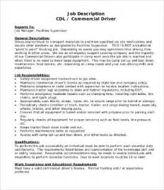 Driver Description Template by Driver Description 8 Free Pdf Documents