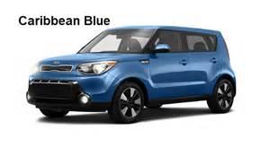 Blue Kia Soul 2016 Kia Soul Exterior And Interior Color Options