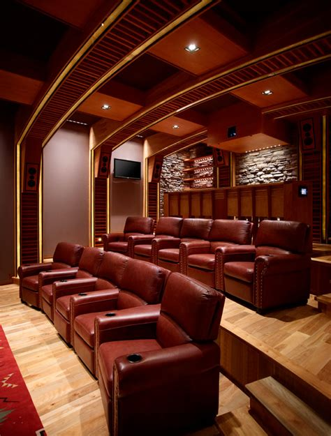 interior design for home theatre salas de cine en casa canexel