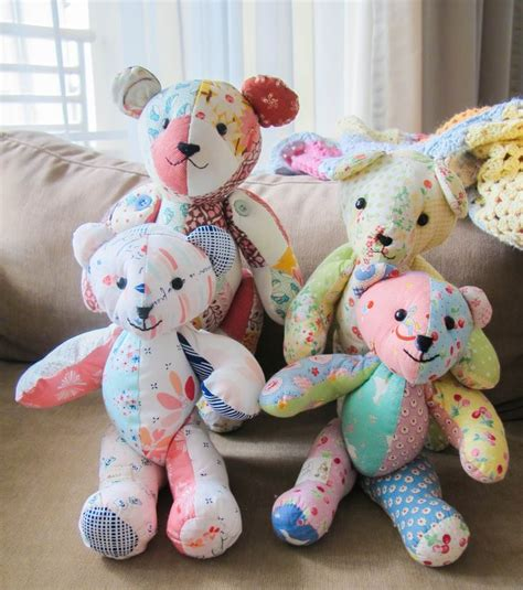 Patchwork Teddy Pattern - 1000 ideas about teddy patterns on