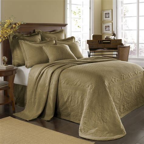 king coverlets birch king charles matelasse bedspread and coverlet