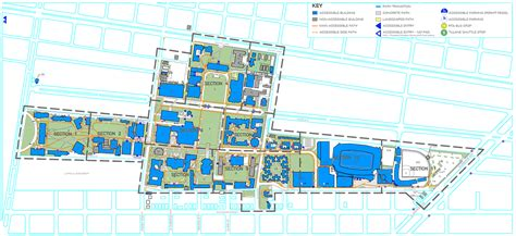 Time Warner Center Floor Plan by Uptown Campus Accessibility Map Tulane University