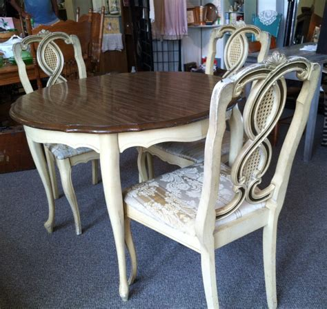 french provincial dining room sets french provincial dining room set can paint to order all