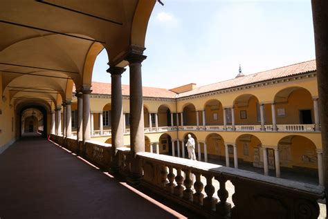 universita pavia pavia italy cloister of the palace uconn
