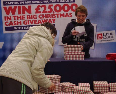 The Big Giveaway - the big christmas giveaway at eldon square 29 the big christmas capital north east
