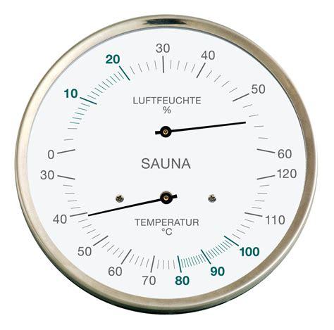 Digital Thermo Hygrometer Amarell E915000 fischer 194 01 195 01 sauna thermo hygrometer