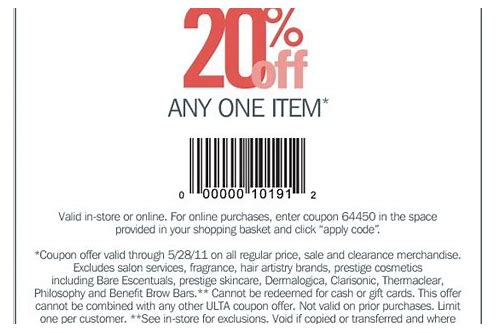 ulta coupon benefit