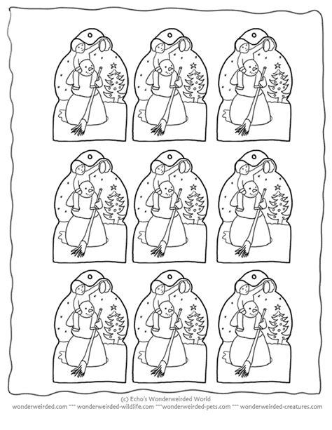 printable christmas tags to color free printable christmas ornaments coloring home
