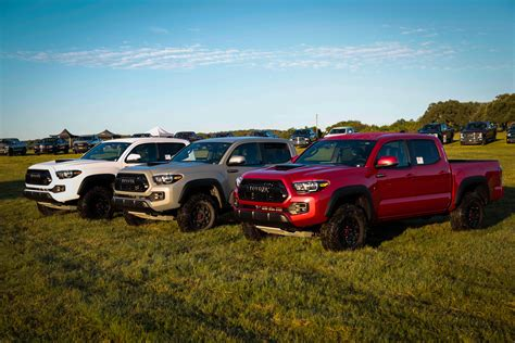 Toyota Mid Size Truck All New 2017 Toyota Tacoma Trd Pro Voted Mid Size Truck Of