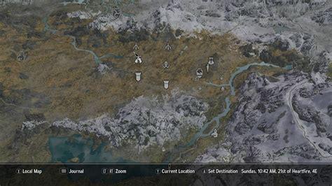 a quality world map skyrim special edition mods a quality world map