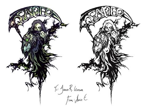 top grim reaper tattoos designs grim reaper images designs