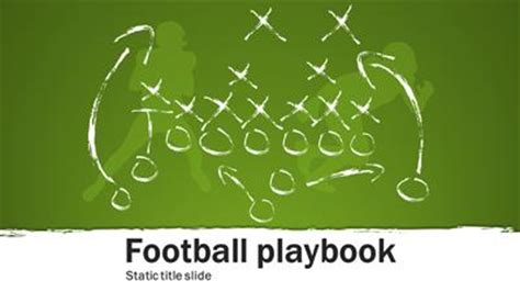 Football Playbook A Powerpoint Template From Powerpoint Football Playbook
