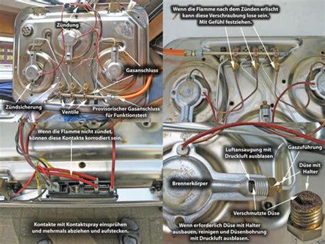 kochfeld ausbauen comment reparer thermocouple gaziniere