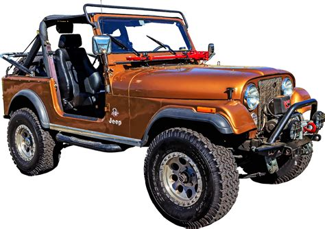 jeep png clipart red jeep