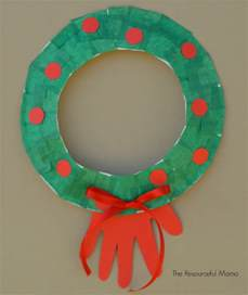 Paper Plate Wreath Crafts - paper plate wreath kid craft the resourceful