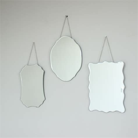 Set Vintage 3 set of 3 wall mirrors melody maison 174