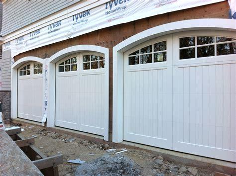 Custom Garage Door by Custom Wood Garage Doors With Custom Arches Aj Garage